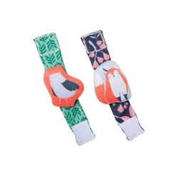 Camp Acorn Wrist Rattle Set