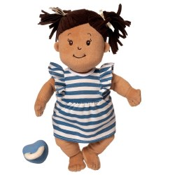 Baby Stella Beige Doll with Brown Hair