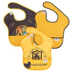 Super Bib 3pk Harry Potter Hufflepuff