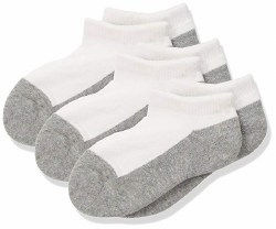 Seamless Sport Low Cut Half Cushion 6pk Grey