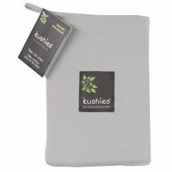 Organic Crib Sheet Grey