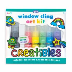 Creatibles window cling kit