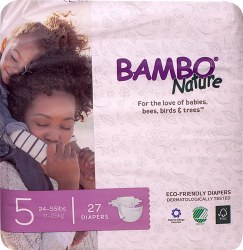 Bambo Nature Diapers 5