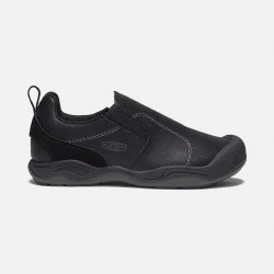 Jasper Slip On Black Youth 2Y