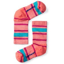 Hike Stripe Light Crew Coral Large