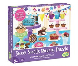 Scratch and Sniff Puzzle: Sweet Smells