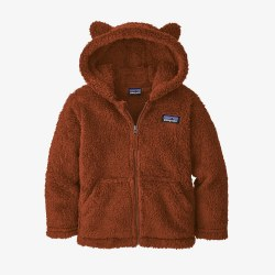 Furry Friends Hoody Barn Red 4
