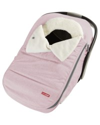 Car Seat Cover Pink Heather