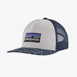 K's Trucker Hat Stone Blue