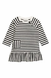 Knit Dress Rewind Stripe 7