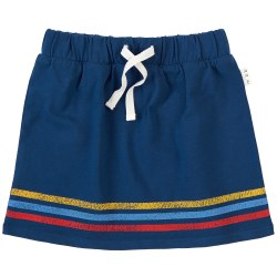 Knit Skirt Blue Retro 4T