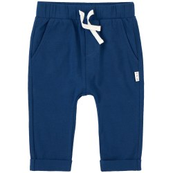Knit Pants Retro Blue 12m