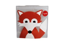 Sandwich Bag (2 pack) Fox