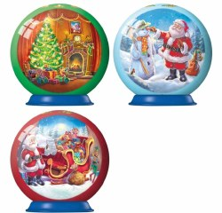 Christmas Puzzle Balls