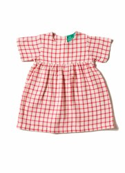 Red Check Summer Dress 18-24m