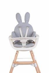Evolu Cushion Rabbit Grey
