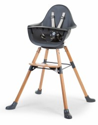 Evolu One.80 High Chair Beech + Anthracite