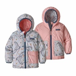 Puff Ball Jacket Snowy Owl 3T