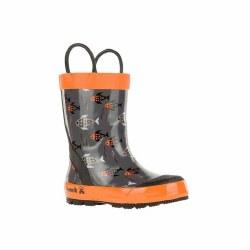 Rain Boots Fishride Orange 11