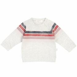 Alpine Pink Stripe Sweatshirt 3T