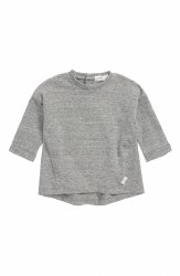 Baby Tunic Heather Grey 12m