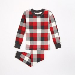 PJ Set Red Plaid 7