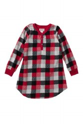 Nightgown Red Plaid 2