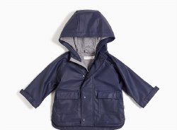 Raincoat Navy 2