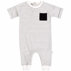 Games Playsuit Stripe 9m