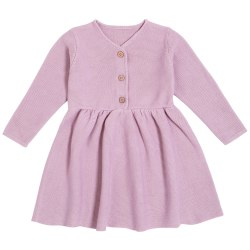 Winter Ribbed Dress 3T