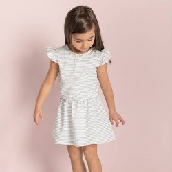 Candy Stripe Dress 2T