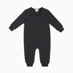 Chess Grid Playsuit 0-3m