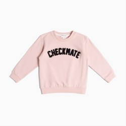 Checkmate Sweatshirt Pink 6