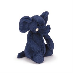 Bashful Elephant Blue Medium