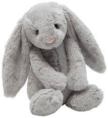 Bashful Bunny Grey Medium