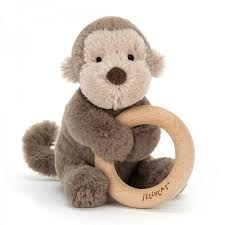 Shooshu Monkey Ring Toy