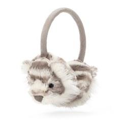 Sacha Snow Tiger Ear Muffs