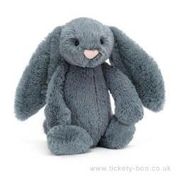 Bashful Bunny Dusky Blue Medium