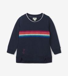 Rainbow Stripe Pullover 3