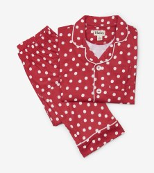 Button Down PJ Set Snowball 5