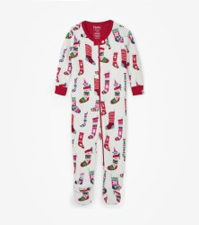Coverall Holiday Stockings 9-12m