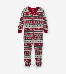 Coverall Winter Fair Isle 0-3m