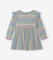 Baby Dress Sweet Stripe 3T