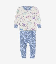 Mini PJ Set Ponies 9-12m