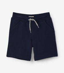 Navy Terry Shorts 7