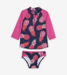Rashguard Set Pineapples 4