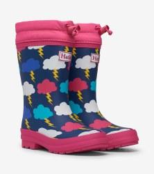Sherpa Rain Boots Clouds 12