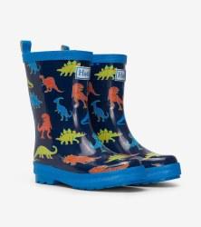 Rain Boots Linework Dinos 6T