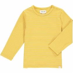 Alcoa Tee Gold Stripe 4-5y