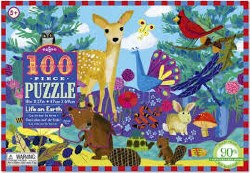 Life on Earth 100 Piec Puzzle